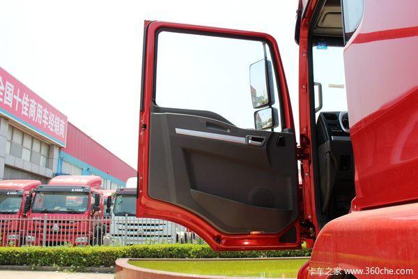 陕汽 德龙新M3000 245马力 6x2 9.6米厢式载货车(SX5206XXYGK549)驾驶室图