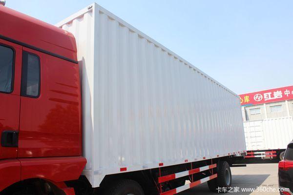 陕汽 德龙新M3000 245马力 6x2 9.6米厢式载货车(SX5206XXYGK549)上装图