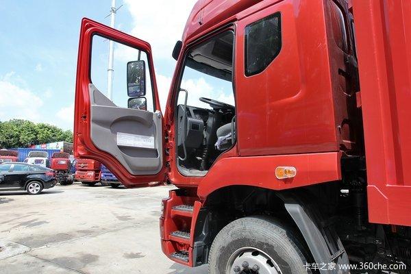 东风柳汽 霸龙 240马力 6X2 9.6米厢式载货车(LZ1250M5CAT)驾驶室图