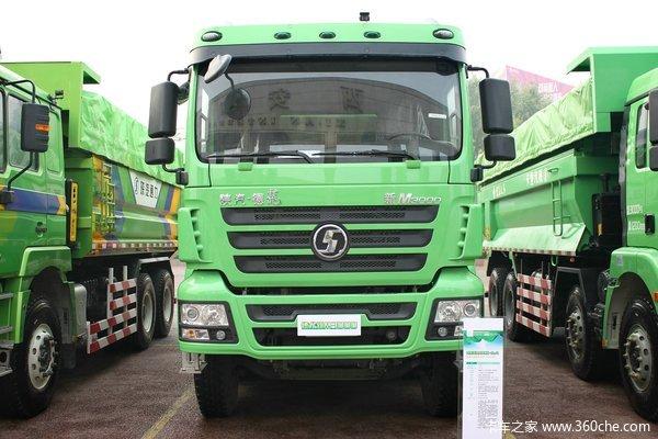 陕汽 德龙新M3000 336马力 8X4 新型渣土车(SX3316HR326)外观图