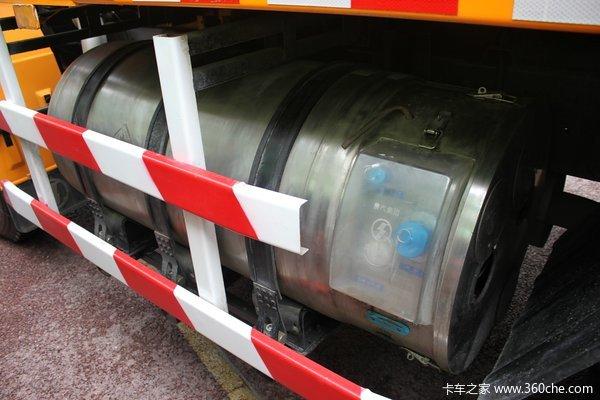 陕汽 德龙F3000 300马力 6X4 LNG新型渣土车(SX3256DR354TL)底盘图