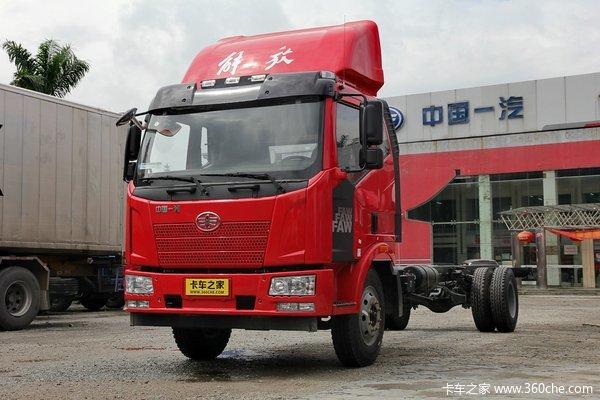 解放 J6L中卡 160马力 4X2 载货车底盘(CA5160XXYP62K1L5A1E4)
