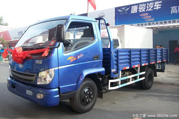 唐骏 轻卡王 120马力 4X2 4.67米单排栏板载货车(ZB1110TDD9S)