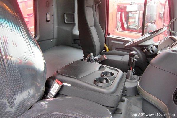 江淮 格尔发K3 300马力 8X4 自卸车(HFC3311P1K4H35H1F)驾驶室图