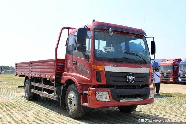 福田 欧马可5系 168马力 4X2 6.2米排半栏板式载货车(BJ1139VJPEK-A1)