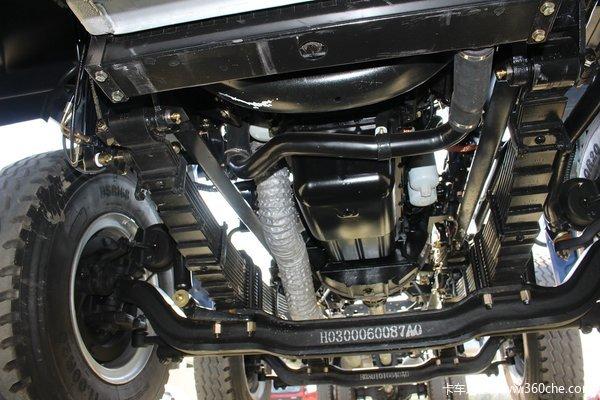 福田 欧曼ETX 6系 245马力 6X2 9.53米厢式载货车底盘(BJ5257XXY-XA)底盘图