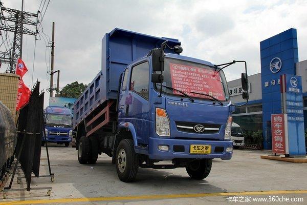 中国重汽 豪曼 115马力 4X2 3.85米自卸车外观图