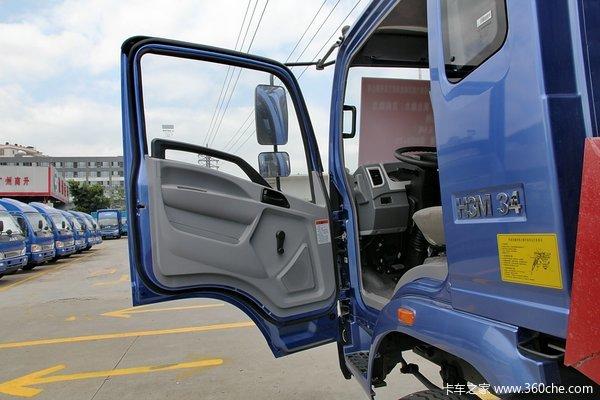 中国重汽 豪曼 115马力 4X2 3.85米自卸车驾驶室图