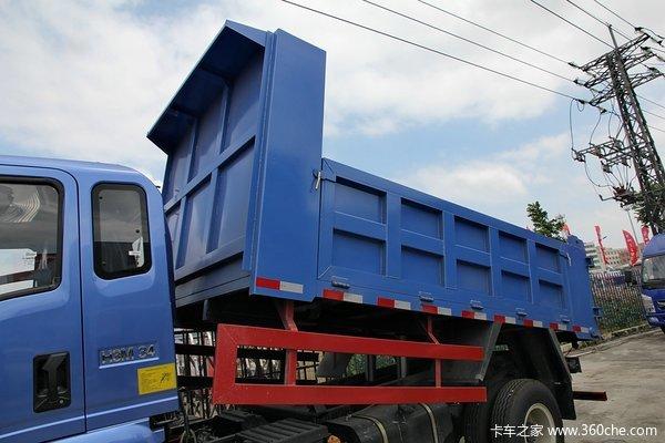 中国重汽 豪曼 115马力 4X2 3.85米自卸车上装图