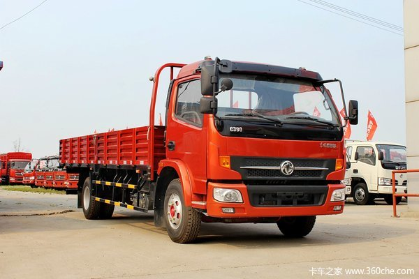 东风 凯普特 125马力 4X2 6.15米单排栏板式载货车(DFA1090S11D5)