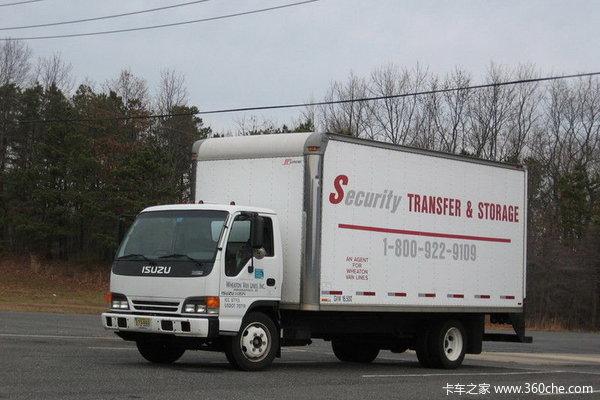 五十铃 N系列轻卡 120马力 4X2 栏板载货车(NPR66P)