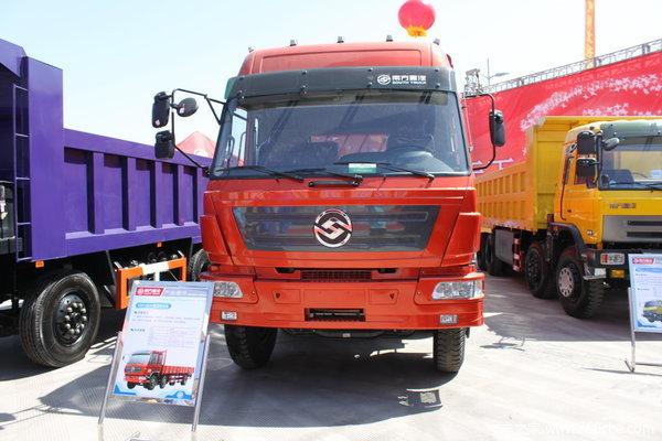 江铃重汽 远威重卡 210马力 8X2 仓栅载货车(SXQ5300CYS)