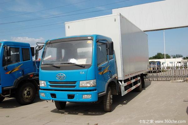 解放 骏威(J5K)中卡 加强型 160马力 4X2 厢式载货车(CA5160XXYP9K2L5E)