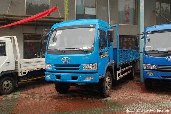 解放 骏威(J5K)中卡 140马力 4X2 栏板载货车(CA1163P9K2L4A1E)