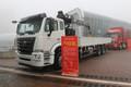 中国重汽 豪瀚J5G 310马力 6X4 随车吊底盘(ZZ1255N5843E1)