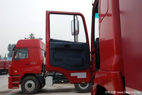华菱重卡 336马力 6X4 自卸车(平顶卧铺)(HN3250P34C9M3)驾驶室图