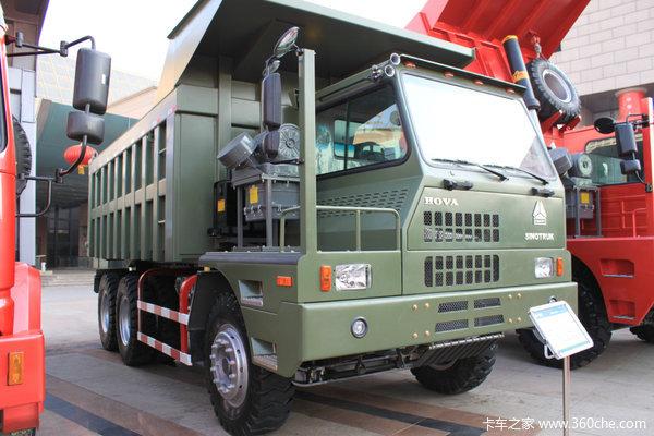 工地大卡车_重汽天然气系列 60矿车将奔赴乌鲁木齐_卡车之家