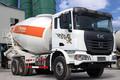 联合卡车U350 350马力 6X4 4.1方混凝土搅拌车(QCC5252GJBD654)