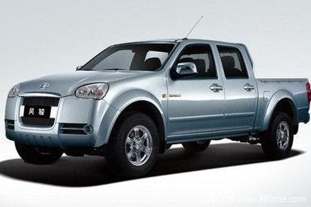 2011款长城 风骏5 标准型 商务版 2.8L柴油 小双排皮卡外观图
