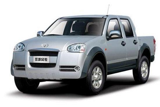 2011款长城 风骏5 豪华型 商务版 2.8L柴油 小双排皮卡外观图