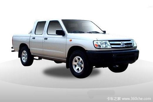 2011款郑州日产 东风锐骐 豪华型 2.5L柴油 四驱 双排皮卡外观图