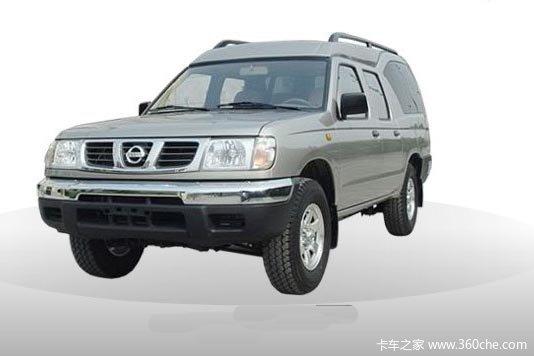 2013款郑州日产 D22 标准型 2.4L汽油 四驱 双排厢式皮卡