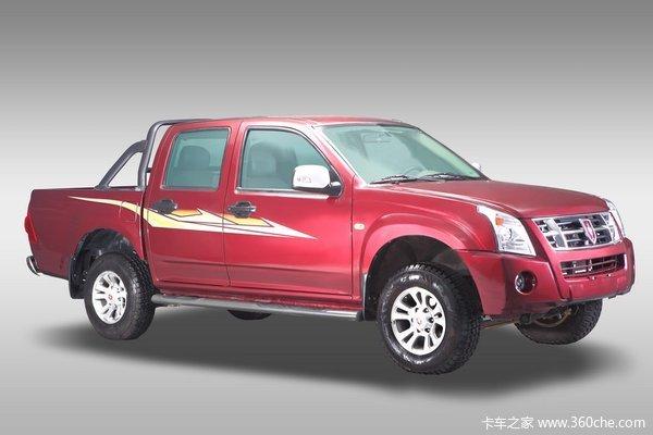 2009款金杯 西部大力神 2.2L汽油 長廂長軸皮卡