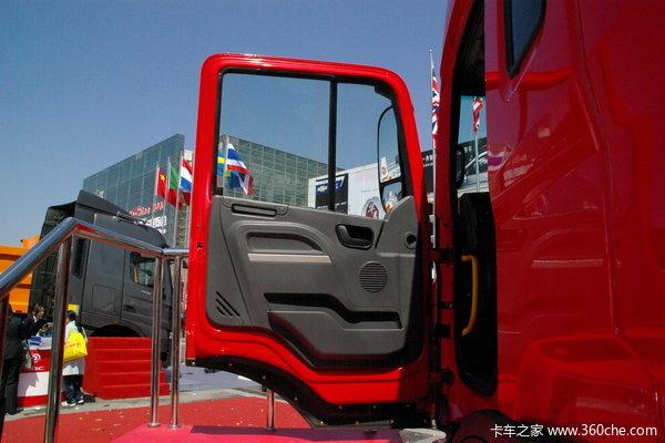 江淮 格尔发K3系列重卡 290马力 6X4 自卸车(底盘)(HFC3251KR1K3)驾驶室图