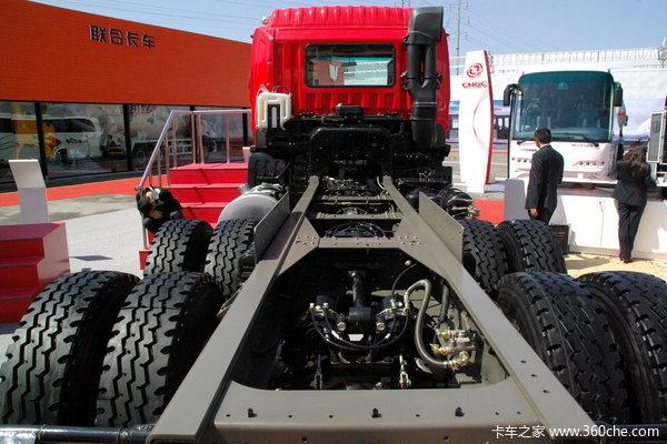 江淮 格尔发K3系列重卡 290马力 6X4 自卸车(底盘)(HFC3251KR1K3)底盘图