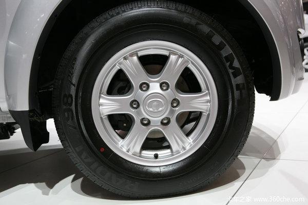 2011款长城 风骏5 超豪华型 商务版 2.4L汽油 大双排皮卡底盘图