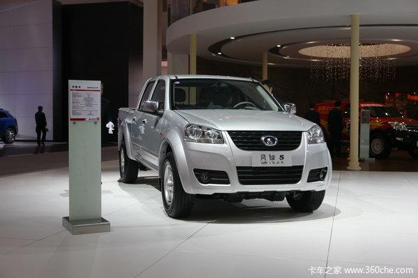 2013款长城 风骏5 财富版 精英型 2.2L汽油 四驱 大双排皮卡