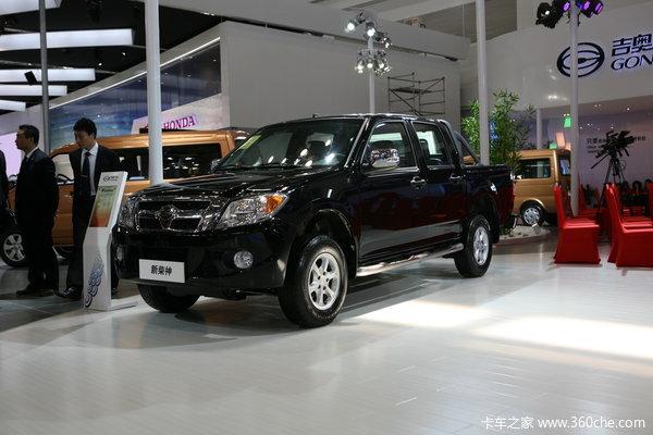 广汽吉奥 财运500系列 豪华型 2.2L汽油国四 双排皮卡