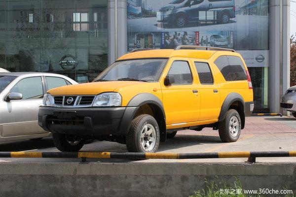 2013款郑州日产 D22 豪华型 2.4L汽油 四驱 双排厢式皮卡