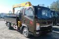 中国重汽HOWO 悍将 143马力 4X2 随吊车(铁运牌)(MQ5040JSQZ5)
