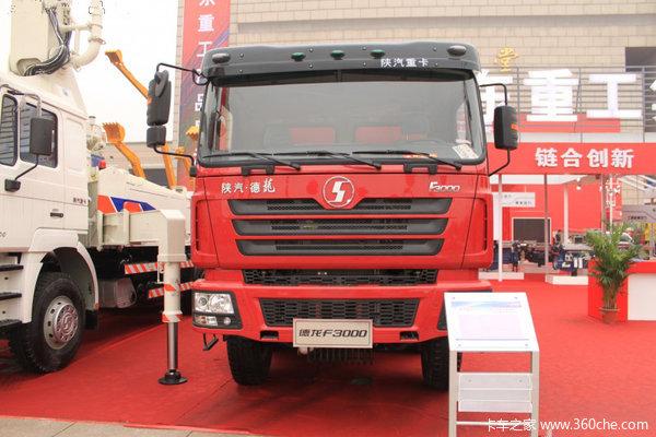 陕汽 德龙F3000重卡 270马力 6X4 栏板载货车(加强版)(SX1255JM434)外观图