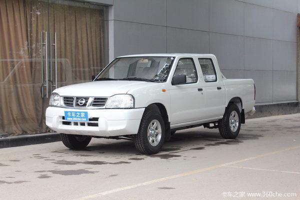 2013款郑州日产 D22 标准型 2.4L汽油 四驱 双排皮卡