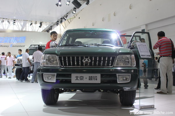 2013款北汽 越铃 财富版 2.8L柴油国四 双排皮卡