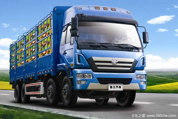 徐工 瑞龙重卡 220马力 8X2 仓栅式载货车(NXG5248CSY3)