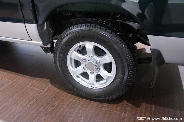 2011款郑州日产 东风锐骐 标准型 3.0L柴油 双排皮卡底盘图