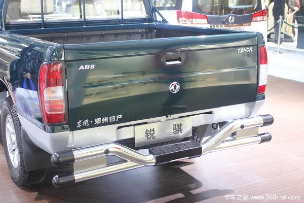 2011款郑州日产 东风锐骐 标准型 3.0L柴油 双排皮卡上装图