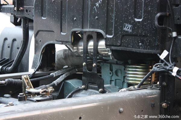江淮 格尔发K系列重卡 336马力 6X4 载货车(底盘)底盘图
