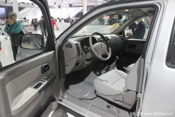 2011款长城 风骏5 公务版 豪华型 2.5L柴油 大双排皮卡驾驶室图