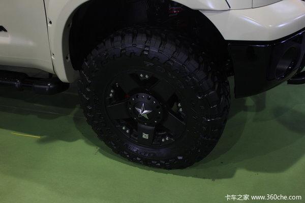 丰田 坦途5700 4.7L柴油 四驱 双排皮卡底盘图