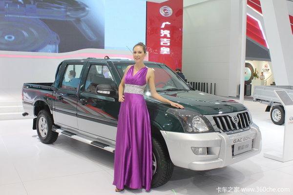 2012款广汽吉奥 财运100系列 舒适型 2.2L汽油国四 双排皮卡