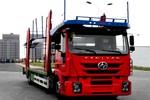 上汽红岩 杰狮M500重卡 260马力 4X2中置轴运输车(CQ5186TCLHMDG681)
