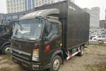 中国重汽HOWO 悍将156马力 4.15米单排售货车(ZZ5047XSHG3315E145)