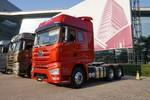 一汽解放 J7重卡 豪華型 550馬力 6X4 AMT自動擋牽引車(火焰紅)(CA4250P77K25T1E5)