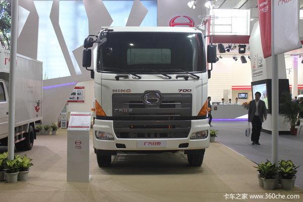 广汽日野 700系列重卡 350马力 6X4 载货车(底盘)(YC1250FS2PM4)