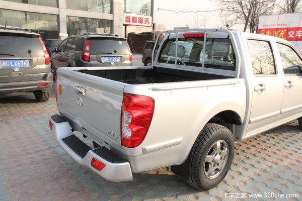2013款长城 风骏5 商务版 精英型 2.4L汽油 小双排皮卡上装图