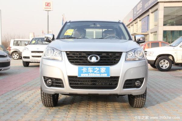 2013款长城 风骏5 商务版 精英型 2.4L汽油 大双排皮卡